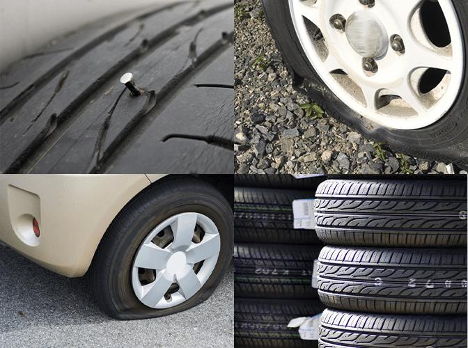 タイヤ交換対応実績